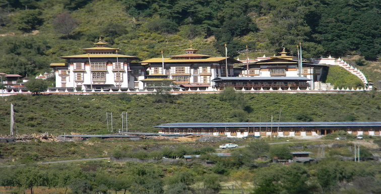 Kurjey Temple just before the Bumthang Owl Trek