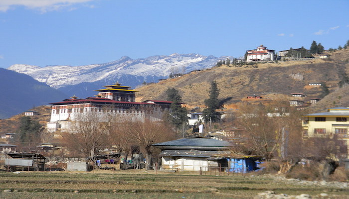 View of Paro Dzong