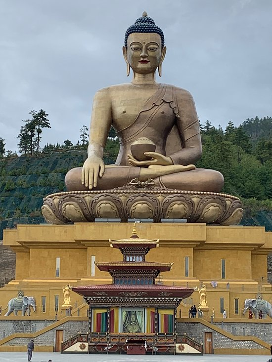Tallest Bhudha Statue in Thimphu